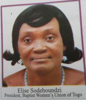 Elise Sodehoundzi President, Baptist Women's Union of Togo