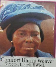 Comfort Harris Weaver Director, Liberia BWUWA