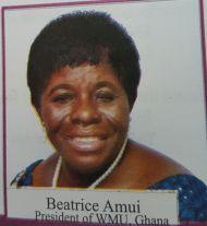 Beatrice Amuni President of WMU, Ghana
